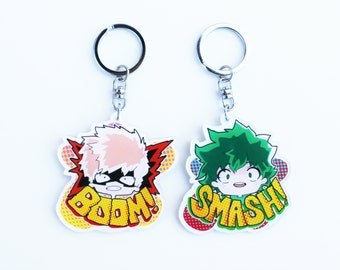 Boku No Hero Inspired Keychain