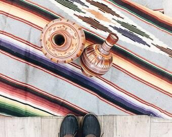 Vintage Mexican Water Jugs / Mexican Vase / Spanish Vase Pair / Boho Vase / Boho Decor