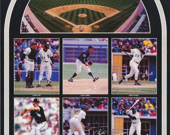 Chicago White Sox All Stars Collage  1991  Poster