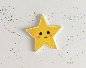 Kawaii Star Pin [brooch lapel pin]