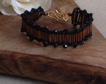 Frilly bracelet
