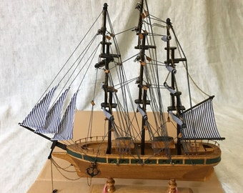 Vintage Model Ship, The Cutty Shark, The Heritage Mint, Tall Ships of the World