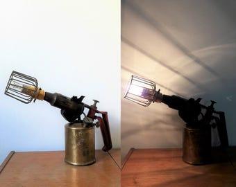 Custom Vintage Primus Blow Torch Lamp
