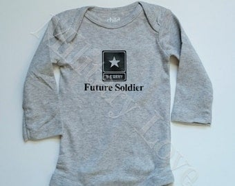 Army Baby Bodysuit - Future Soldier Baby - Army Baby Clothing