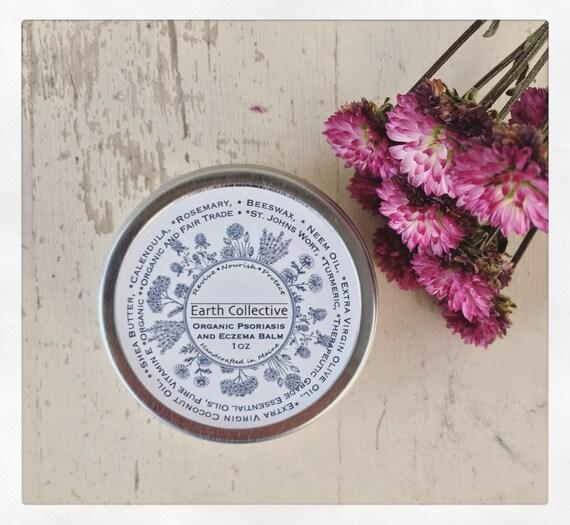 Organic Psoriasis & Eczema Salve-Rosacea Cream-Keratosis Pilaris Salve-Dermatitis Ointment-Natural Eczema Psoriasis Balm-Psoriasis Cream