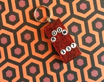 Overlook Hotel Room Key Keychain