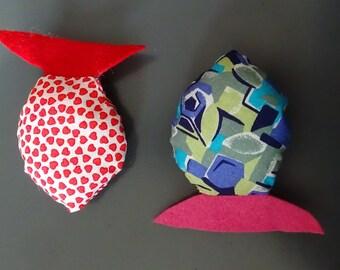 UniCat soft cat toy - fish shaped, rustle noise
