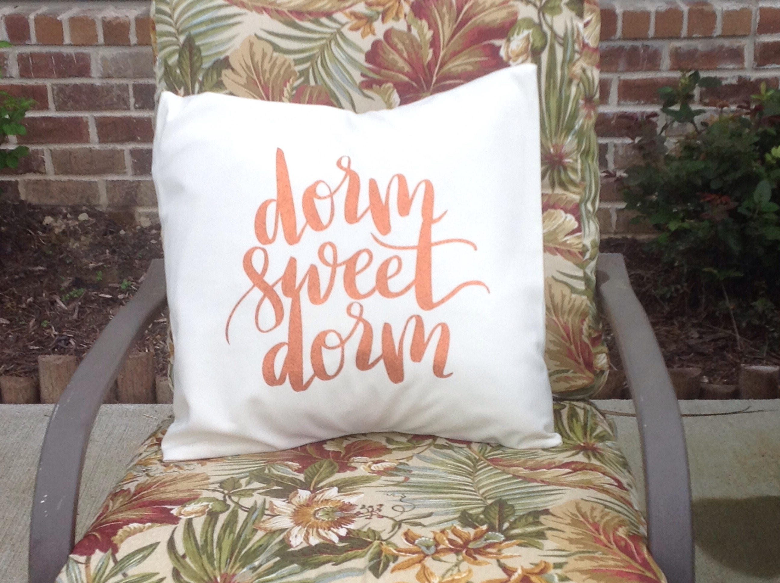 Decorative Pillows For College : Decorative College/Dorm Pillow Cover