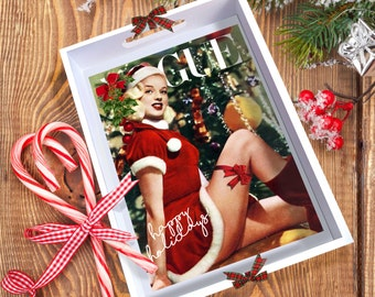 CHRISTMAS! Vogue Pin-Up 'Candy' Tray