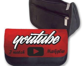 I WATCH MARKIPLIER Pencil case / Clutch - make up bag
