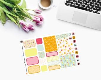 POSH MINI BIRTHDAY Set Planner Stickers  CAM00029