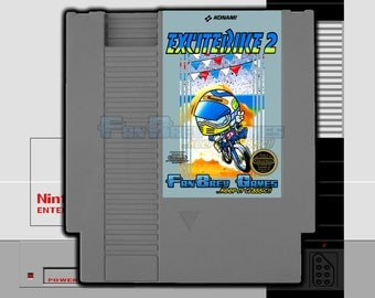 "SPECIAL ORDER! ""Excitebike 2"" Unreleased Nintendo NES Motocross Racing!"