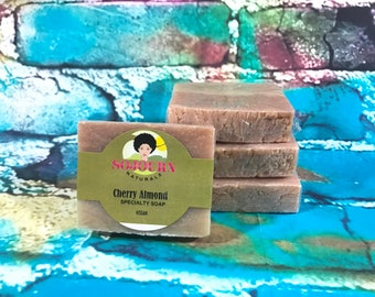 Vegan Cherry Almond soap