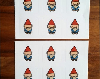 Cute Gnome Stickers