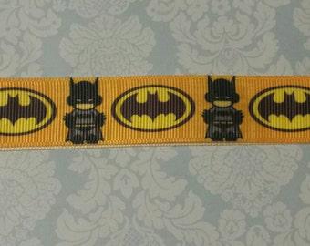 Batman grosgrain ribbon