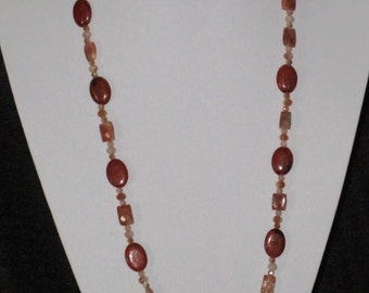 Rust necklace