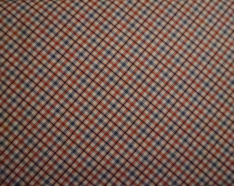 Americana: Patriotic Plaid; sold by the yard