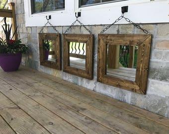Small Decorative Mirrors, Unique, Hallway Mirrors, Bedroom, Entryway  Mirrors, Decorative Mirrors
