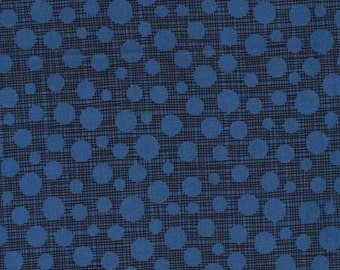 Little Movers HASH DOT in NAVY from Michael Miller - 1/2 yard