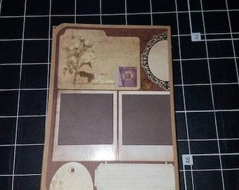 Mini photo folio aka Bragbook