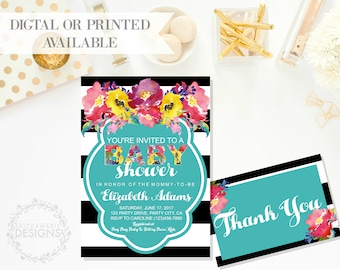 Baby Shower Invitation | Kendall Collection