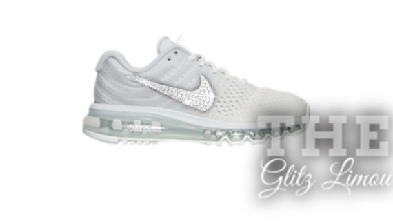 50%OFF Nike swarovski authentic glitz gems bling white by TheGlitzLimou cfe66e231