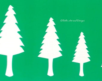 List 1 - Assorted Tree Stencils *Free gift with every order*