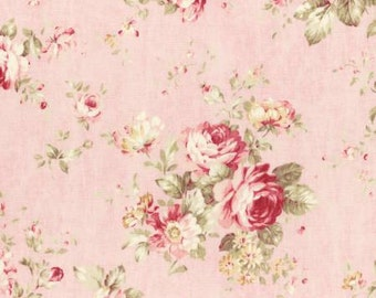 Durham Quilt Collection 2 1/2 Inch Strips Jelly Roll, 42 Pieces, Lecien, Precut Fabric, Quilt Fabric, Cotton Fabric, Floral Rose Fabric