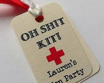 Hangover kit, Hangover kit tags, Hen party tags, Wedding hangover kit, Hen party favour tags, Hen party bag tags, Hen party hangover kit.