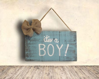 It's a Boy Sign - Reveal Party Sign - Baby Shower Sign - Photo Prop Sign - Nursery Sign - Baby Sign - It's a Boy Sign - Baby Shower Gift