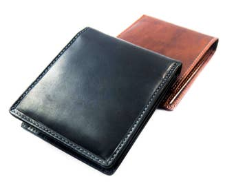 Flip ID Bifold LEATHER WALLET
