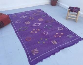 Moroccan kilim sabra rug