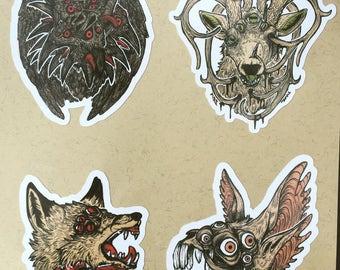Body Horror Sticker Pack 2