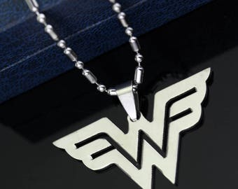 Wonder Woman Justice League Pendant Necklace