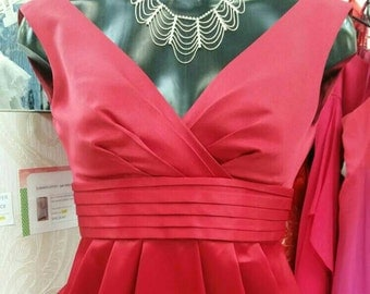 Size 10 red party dress