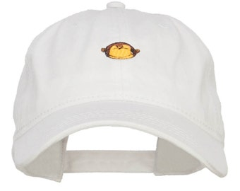 Mini Monkey Embroidered Washed Cap