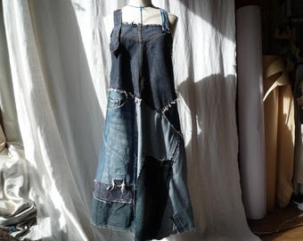apron dress - size M-