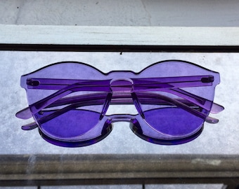 Spectrum Fashion Sunglasses - Purple