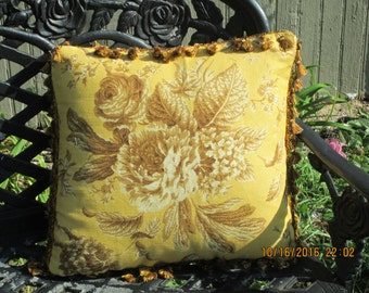 English /French Country pillow