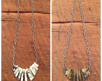 Stone Cleopatra Necklace