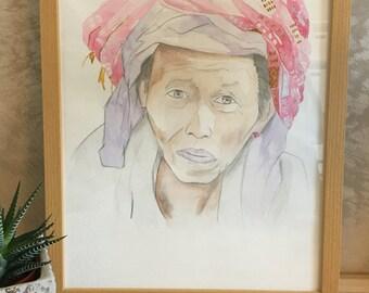 Peinture à l'aquarelle • Watercolor paint
