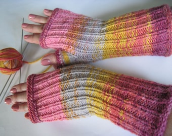 winter accessories knit mittens wool gloves winter mittens hand warmers mittens gloves wool mittens warmers  anniversary gift for girlfriend