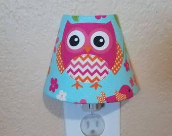 NightLight - Owl Nursery Decor  - Childrens  Room Owl Decor - Owl Bedroom Nightlight - Nursery Night light