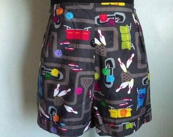 SALE retro Bowling shorts