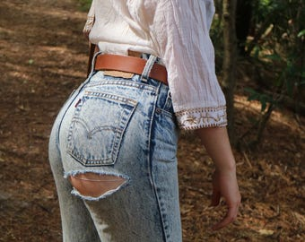 Vintage Ripped Levi's