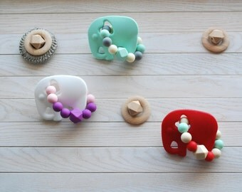 Baby Teether, Silicone Teether, Teething Toy, Baby, Infant, Teething Rings, Gift Baby Shower, Baby Toy, BPA Free Shower, Sensory Teether