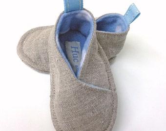 Baby Booties, Personalised Booties, Crib Shoes,