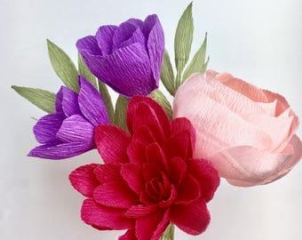 Bella Paper Flower Bouquet
