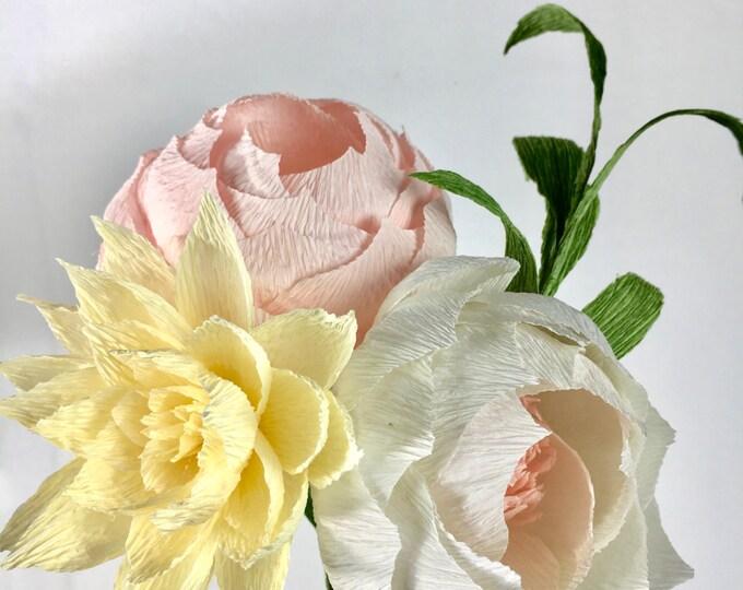 Mia Paper Flower Bouquet