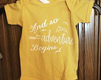 Andventure Baby Bodysuit